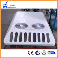 Best Selling 12KW rooftop mount cooling system mini bus, van air conditioner from China manufacturer