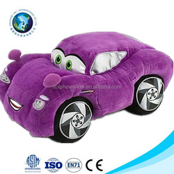 2016 new various soft plush car popular stuffed custom plush car