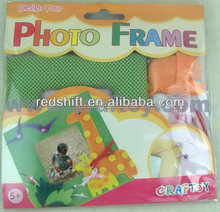 diy Educational toy Make your photo frame Forest