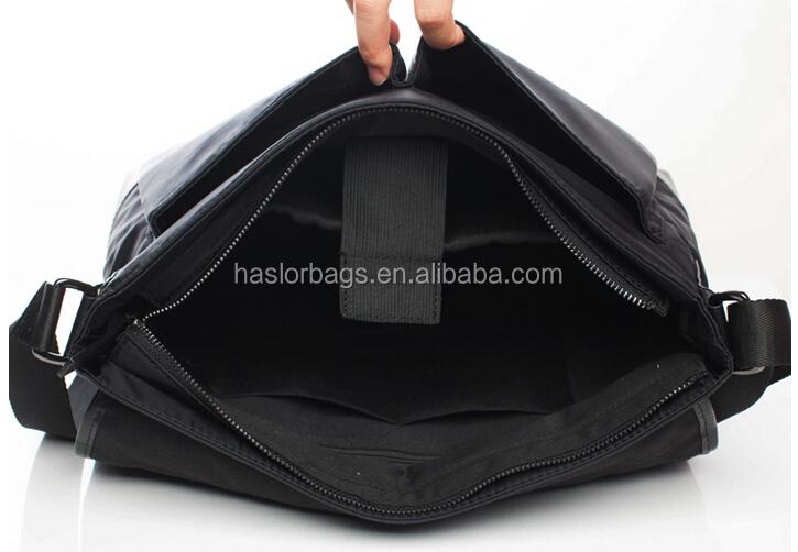 Hommes véritable messager en cuir sacs / documents sac / cartable