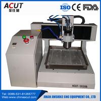 mini 3D CNC stone engraving machine 3030/used desktop cnc engraving machines