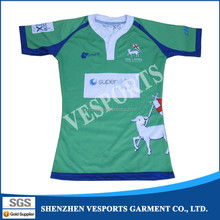 rugby style shirts sublimation rugby jerseys with custom design