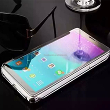 Alibaba Express Clear View Mirror Wallet Flip Leather Case for Samsung Galaxy Note 5