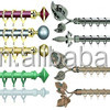 New Design Iron Hanger Curtain Rod,Curtain Rod In India,Door And Window Blinds