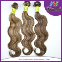 100% straight virgin mixed color weave extensions malaysian human hair toppers
