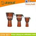 Instrumentos musicales de percusión djembe tambor, instrumento de música de tambor para la venta