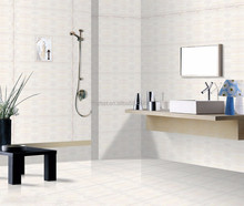Lasted design superior white floor bathroom tile first choice in China