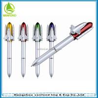 Good quality rocket shape ballpoint pen for promotion