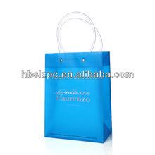 Beauty reusable cheap PVC gift bag
