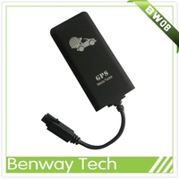 GPS tracker for motorcycle taxi scooter with built in antenna and support online gprs web based software