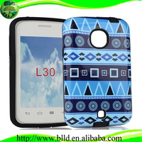 Shockproof heavy duty case cover cellular protective design for lg L30