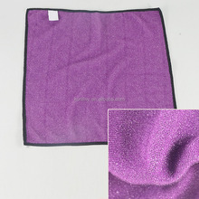 KLM-075 wholesale multi-fuction dish towel purple color nylon wire fabric gifts for promotion