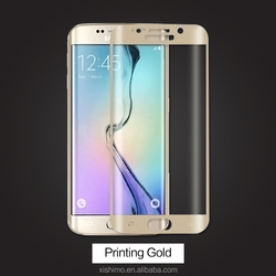 Full cover 3D curved PET protective film for Samsung galaxy s6 edge