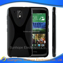 Anti drop TPU soft case cover for HTC Desire 526G+, for HTC Desire 326G cover case