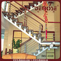 escaleras plegables de acero con larguero de la escalera de diseño