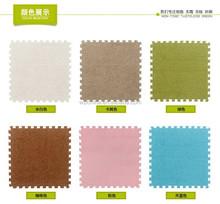 Good quality non toxic eco friendly Short plush eva foam baby crawl mat