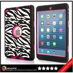 Keno for iPad Case, Hybrid Protective Case Combo Defender Shockproof Armor Case for iPad Mini / Mini 2 with Retina Display