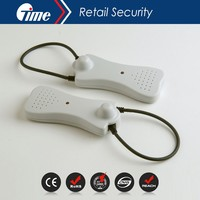 ONTIME Triple Protection Magnetic Functional EAS Self Alarming Cable Lock AS1022