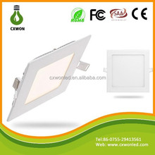 Manufacturer wholesale led panel ceiling light slim square cheap facade wall panel
