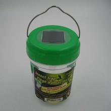 Solar light garden fly trap