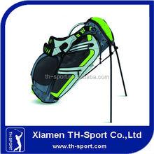customized green black beautiful golf bag