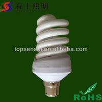 Full spiral 10W 12W 220V B22 Energy saving lamp pp cfl lights