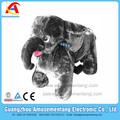 at0617 amusementang de la moneda operado paseos para niños en la rueda de los animales de bicicletas para niños supermercado