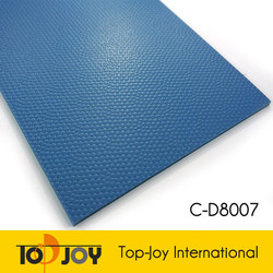 Dot Coin Embossed Pattern Sport PVC Flooring