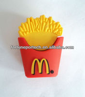 fast food snack shape usb flash drive! cute chips usb disk