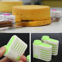 5 Layers Kitchen DIY Cake Bread Cutter Leveler Home Bread Slicer Cutting Perfect Slice Pie Cake tools