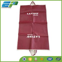 Foldable garment bag for shopping and promotion