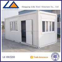 Prefabricated Steel Structure Good Insulation Container Homes