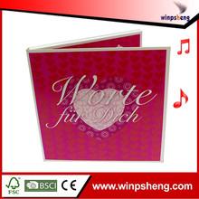 Heart Shape Handmade Wedding Invitation Card/Wedding Decoration Greeting Card