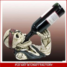 Halloween Wine Holder/Skull Head Wine Holder