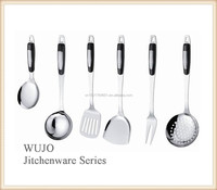 Stainless steel kitchenware, kitchen utensils,cooking tools with Ceramic handle