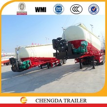 2015 Chinese 3 axles 45cbm bulk cement trailer Philippines selling well