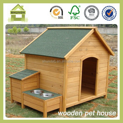 SDD0405 Outdoor Wooden Dog Houses