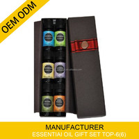 Best Blends Set of 6 100% Pure, Best Therapeutic Grade Essential Oil - 6/10mL Aromatherapy Kit Makes Great Gift