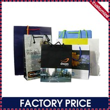Factory price custom made luxury gift paper bags and box for packaging