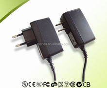 5v 1a china dc power supply 5w with CE UL KC