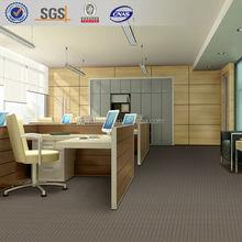 Commercial business carpet 20%nylon 80% wool plain carpet for home