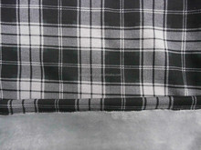 37%cotton 58%polyester 5%spandex knit brushed print fabric