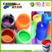 Water based pigment color for furniture fabric clean dyeing