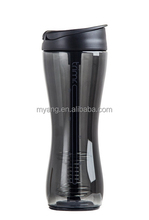 2015 newest Protein shake blender joyshaker bottle with straw/personalized protein shaker bottle BPA Free