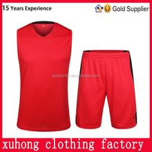 Cheap professional new sportswear type adults uniform basketball wear