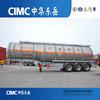 42cbm Tri-axle Aluminium Fuel Tanker Trailer