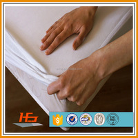 80% cotton 20% polyester terry cloth waterproof mattress cover /mattress protector