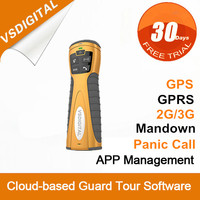 GPRS GPS Wireless Intelligent Security Alarm System for Guard Patrolling