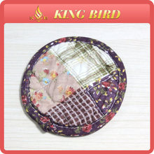round heat resistant cup glass coaster 100 cotton mat