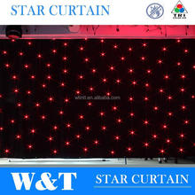 DMX control heavy led curtains for theater decoration